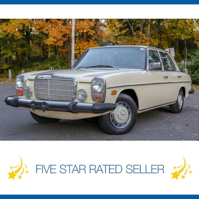 1975 Mercedes-Benz 300-Series Collectible W115.114 Washington State Diesel