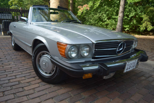 1975 Mercedes-Benz SL-Class CONVERTIBLE (SOFT AND HARD TOP)EDITION
