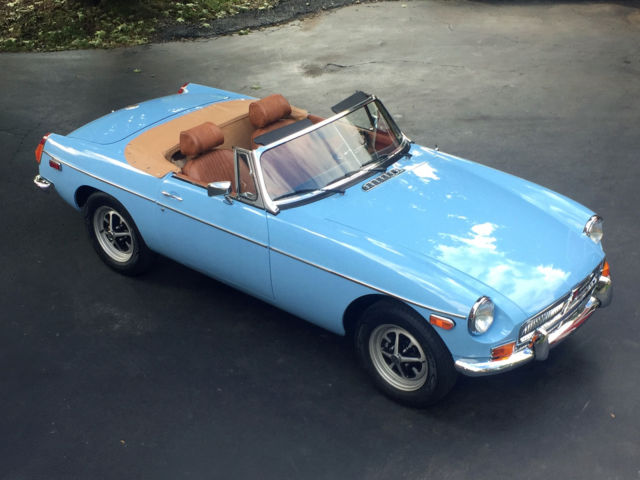 1975 MG MGB Roadster