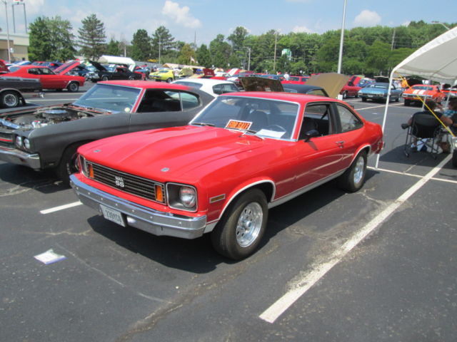 1975 Nova Ss Factory 4spd For Sale Photos Technical