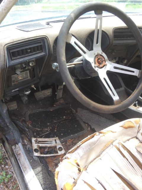 1975 Black Oldsmobile Cutlass W-30 442 Coupe with Black interior