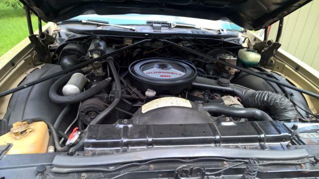 Oldsmobile Cutlass Salon Base Coupe Door L on Old Oldsmobile 350 Rocket Engine