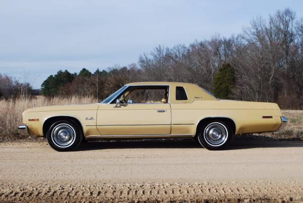 1975 Plymouth Fury Grand Fury Brougham