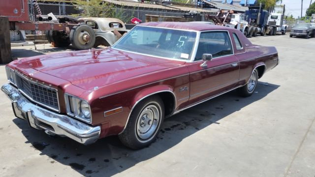 1975 Plymouth Fury