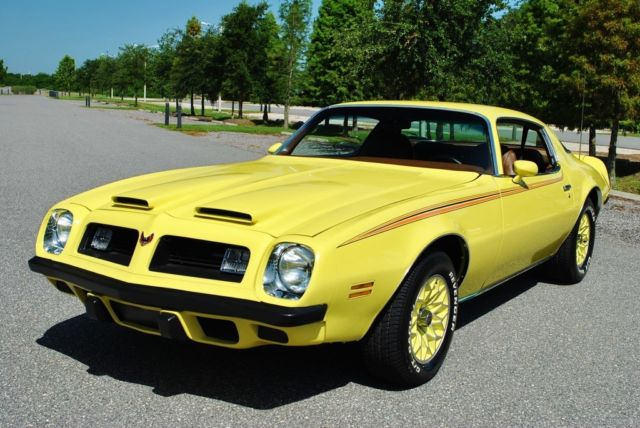 1975 Pontiac Firebird Formula PHS Docs Original Colors! Super Clean!