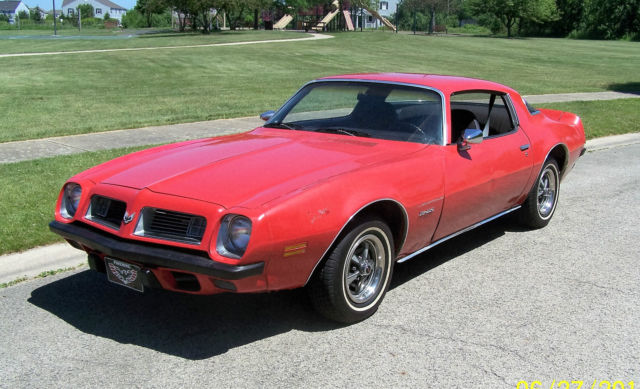 1975 Pontiac Firebird Base