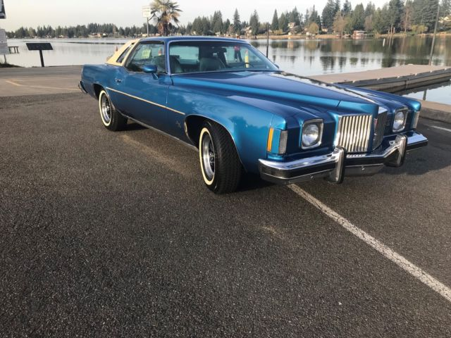 1975 Pontiac Grand Prix grand prix model J