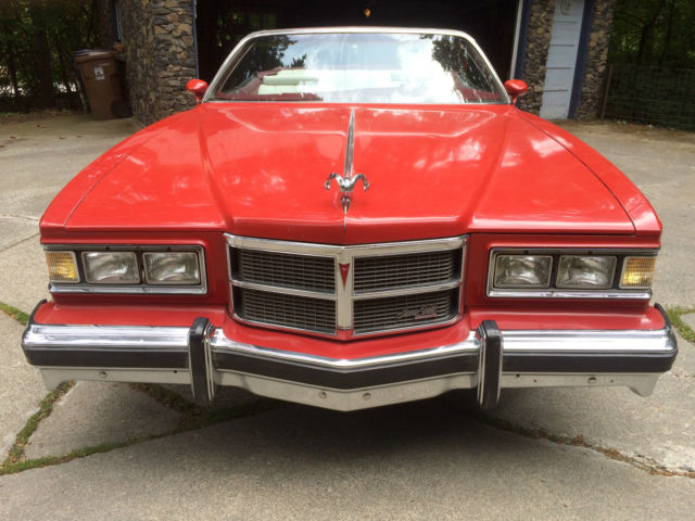 1975 Pontiac Grandville Convertible 455 Turbo 400 For Sale