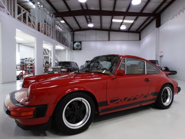 1975 Porsche 911 ONLY 39,198 ORIGINAL MILES! 1 OF 395 BUILT FOR US!
