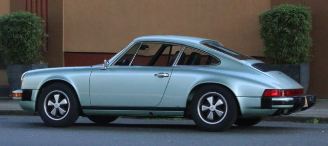 1975 porsche 911s 911 s cosmetically preserved mechanically rebuilt excellent for sale photos. Black Bedroom Furniture Sets. Home Design Ideas