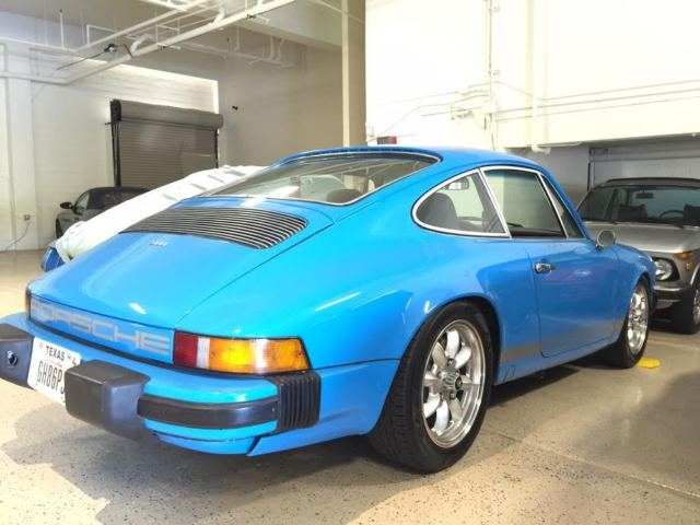 1975 porsche 911s restored mexico blue for sale photos. Black Bedroom Furniture Sets. Home Design Ideas