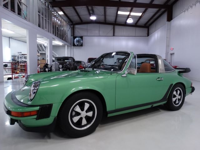 1975 Porsche 911 ORIGINAL CALIFORNIA CAR! ONLY 38,805 MILES!