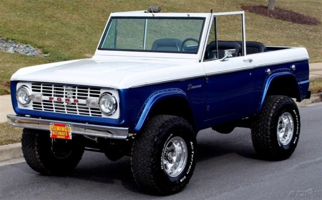 1975 Ford Bronco Pro Touring 4x4 with less than 100 test miles!!