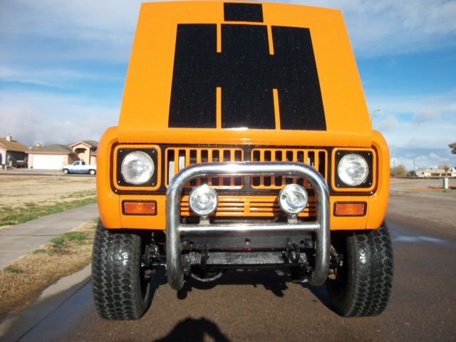 1975 International Harvester Scout CONVERTIBLE TRUCK
