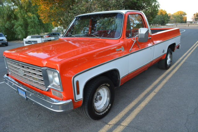 1975 SILVERADO C10 HEAVY ½ TON 454 PICKUP For Sale: Photos