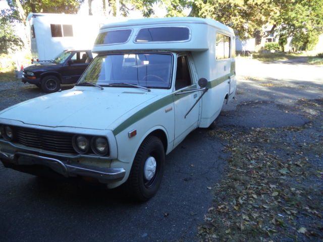 1975 Toyota Chinook Camper for sale: photos, technical