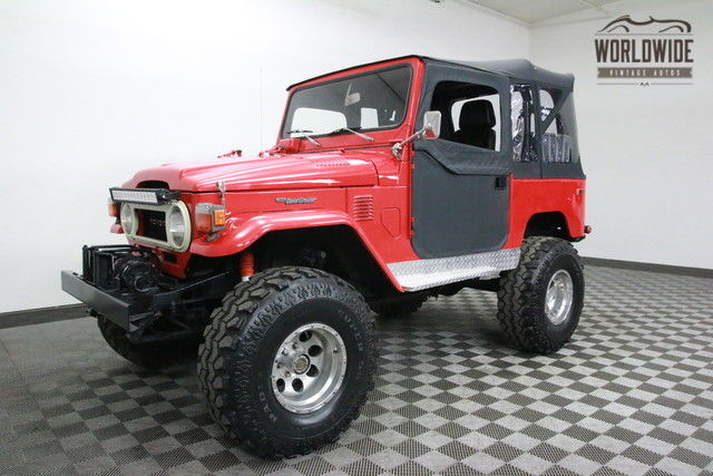 1975 Toyota FJ40 RESTORED CUSTOM.PS. PB. AWESOME DRIVER!