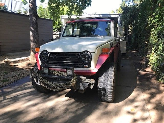 1975 Toyota Land Cruiser Modified Wagon into 4 door Pickup