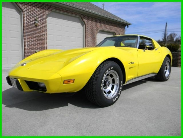 1975 Chevrolet Corvette Vehicle Trim: