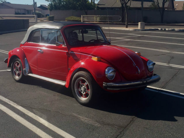 1975 Volkswagen Beetle - Classic classic bug convertable