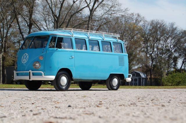 1975 volkswagen bus vw 15 window kombi vanagon type2 t1 original splitty combi for sale photos. Black Bedroom Furniture Sets. Home Design Ideas