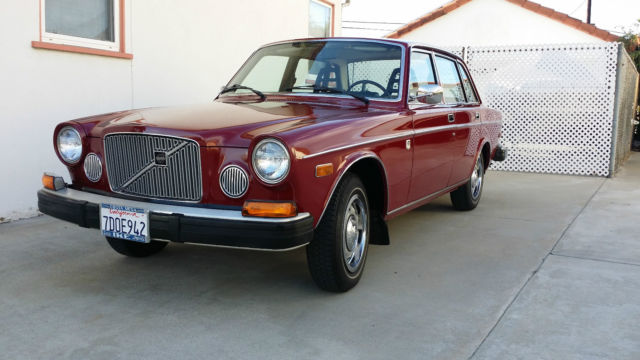 1975 volvo 164e original owner 17 150 miles from new always garaged for sale photos technical. Black Bedroom Furniture Sets. Home Design Ideas