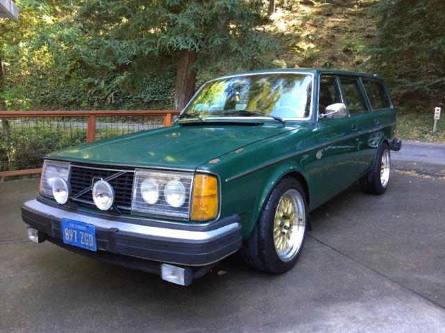 Volvo 240 turbo wagon for sale