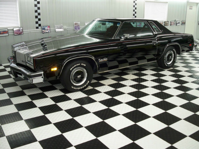 1976 455 oldsmobile cutlass salon heavily optioned black for 1976 cutlass salon