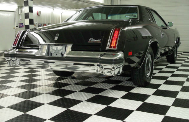 1976 455 oldsmobile cutlass salon heavily optioned black for 1976 cutlass salon for sale