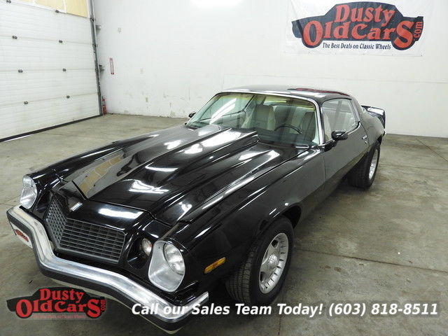 1976 Chevrolet Camaro Runs Drives Body Inter Good 350V8 4 Spd Hurst