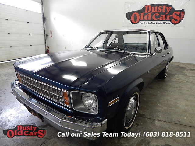 1976 Chevrolet Nova Runs Drives Brakes Steers Great Entry Classic