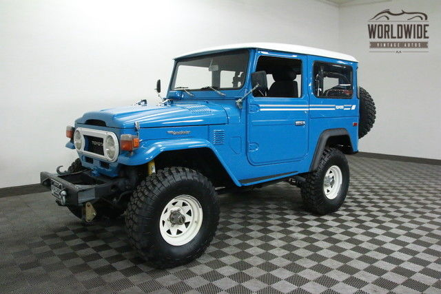1976 Toyota FJ40 VORTEC EFI V8.NEW PAINT. 5 SPEED. PS. PB!