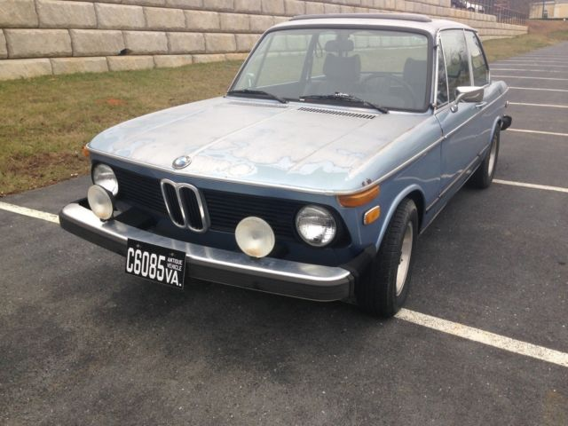 1976 bmw 2002 sunroof rare bottle top turbo wheels more for sale photos technical. Black Bedroom Furniture Sets. Home Design Ideas