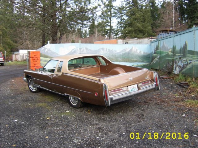1976 cadillac deville mirage classic car pick up truck rare barn find el camino for sale photos. Black Bedroom Furniture Sets. Home Design Ideas