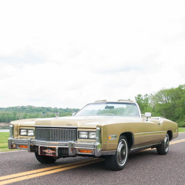 1976 Cadillac Eldorado Fleetwood Convertible,500 V8,,Low