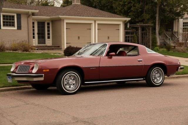 1976 chevrolet camaro - firethorn red (36) for sale: photos