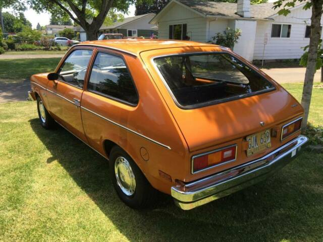 1976 chevrolet chevette coupe all original super low miles clean title nice for sale photos technical specifications description topclassiccarsforsale com
