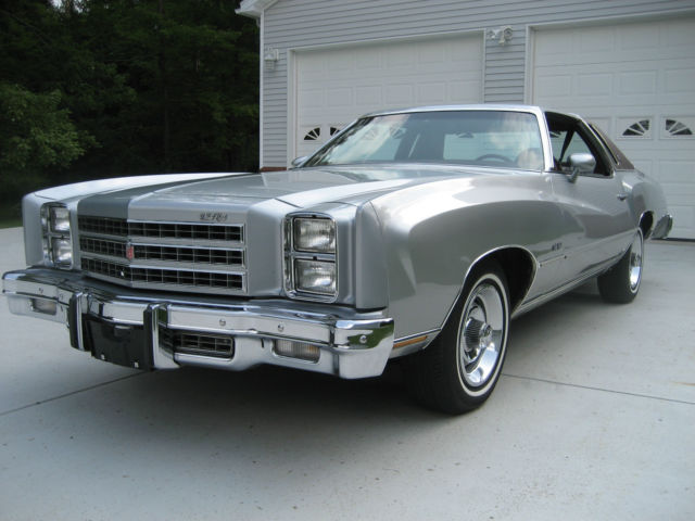 1976 Chevrolet Monte Carlo S Coupe 2 Door 6 6l For Sale Photos Technical Specifications