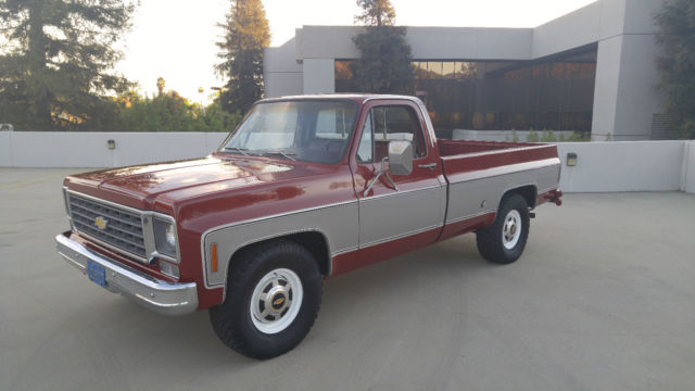 1976 chevrolet truck 3 4 ton in california for sale photos technical specifications description. Black Bedroom Furniture Sets. Home Design Ideas