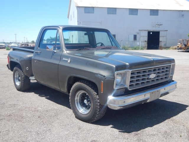 1976 chevy c10 stepside value