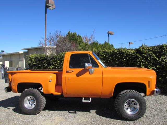 1976 Chevy C10 4x4 Step Side Short Bed 350 V8 Lots Of