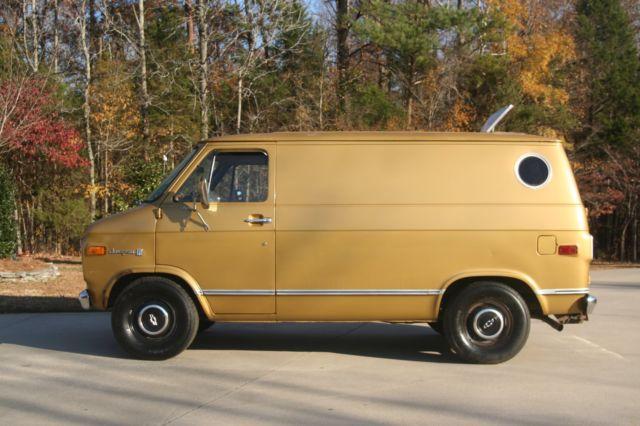 1976 Chevy G10 Shorty Van CLASSIC SURVIVOR CHEVROLET SHORTY