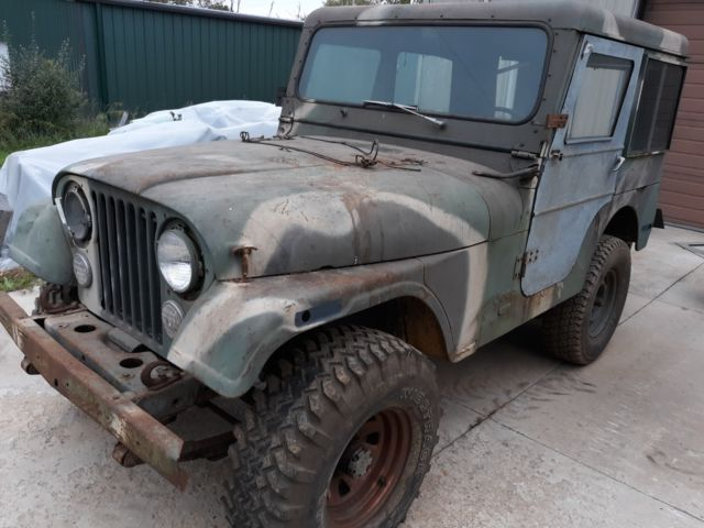 1976 Jeep CJ Ex-military