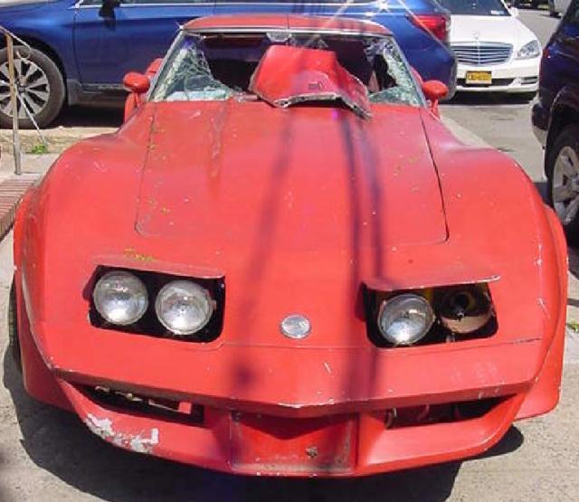 1976 corvette stingray no reserve parts car for sale photos technical specifications description. Black Bedroom Furniture Sets. Home Design Ideas