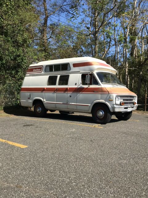 1976 Dodge B300 Coachmen Campervan RV