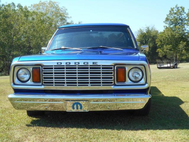 1976 Dodge D 100 Step Side Show Or Pleasure Truck The Old