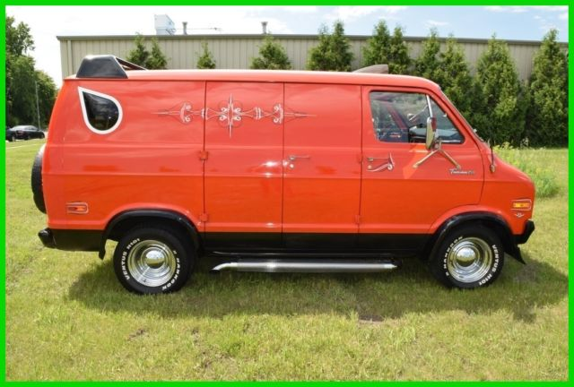 1976 Dodge Tradsman Goodtimes Van 1976 DODGE TRADESMAN GOODTIMES CONVERSION VAN