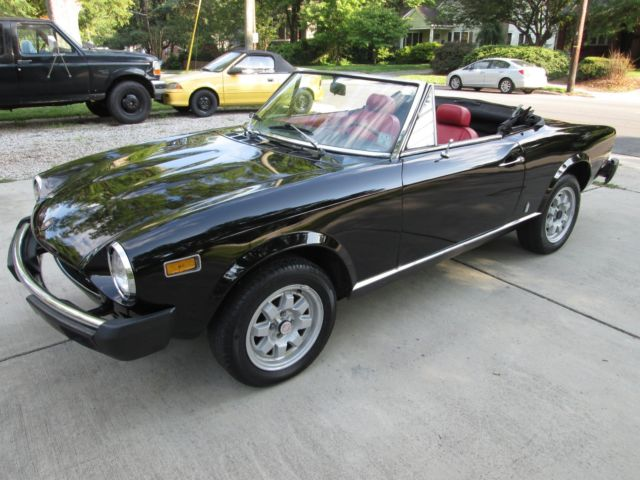 1976 Fiat 124 SPIDER DUAL WEBERS