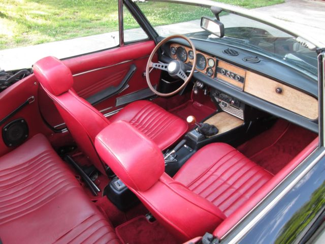 Used Cars For Sale In Nc >> 1976 FIAT 124 SPIDER 43K! NEW ENG! DUAL WEBERS NEW ...