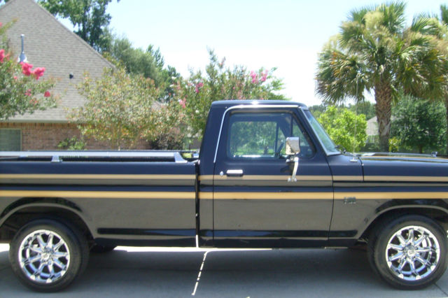1976 ford antique pickup truck for sale photos technical. Black Bedroom Furniture Sets. Home Design Ideas